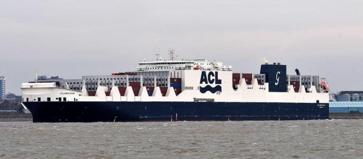 Atlantic Star at Liverpool