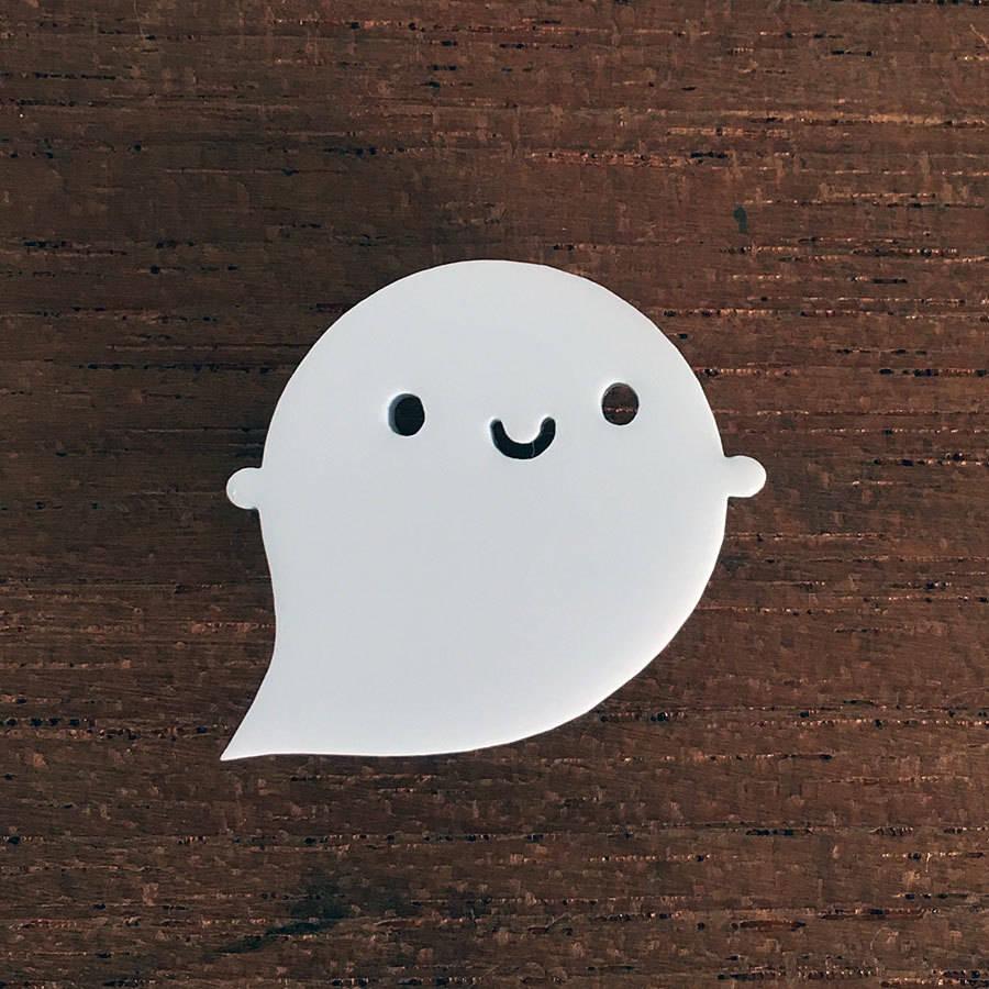 original_little-ghost-acrylic-brooch