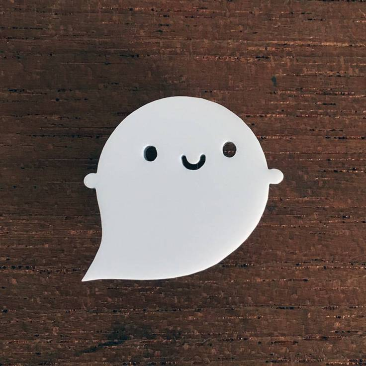 original_little-ghost-acrylic-brooch